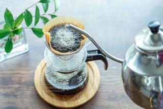おうち時間はハンドドリップでコーヒーをの写真・画像素材[3509267]