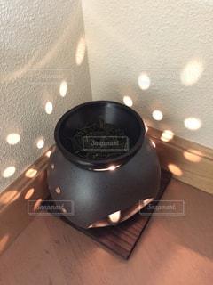 茶香炉でお部屋の消臭&リラクゼーションの写真・画像素材[1061293]