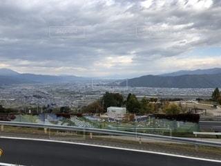 高台からの風景の写真・画像素材[1580837]