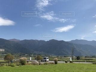 山のある風景の写真・画像素材[1581274]
