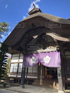 上田市「前山寺」本堂の写真・画像素材[1623407]
