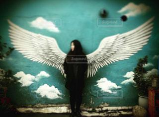 天使の羽根の写真・画像素材[1061593]