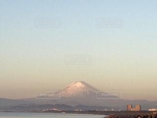 早朝の富士山の写真・画像素材[1063259]