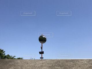 カーブミラーの写真・画像素材[1065224]