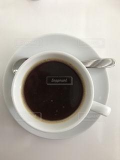 一杯のコーヒーの写真・画像素材[1213922]