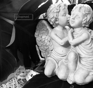 天使のかくれんぼの写真・画像素材[1061017]