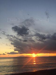 葉山のビーチ.の写真・画像素材[1152147]