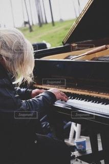 Just piano man.の写真・画像素材[2789446]