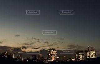 さいたま新都心の夜景の写真・画像素材[2753716]