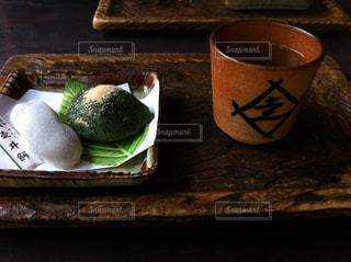 京都八幡の走井餅の写真・画像素材[1077718]