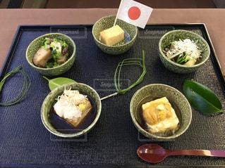 ファーストクラス食事の写真・画像素材[1087008]