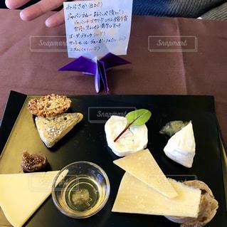 チーズ盛り合わせの写真・画像素材[1087009]