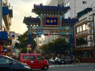 中華街の写真・画像素材[1079698]