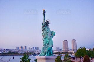 自由の女神像の写真・画像素材[1075882]