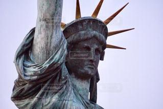 自由の女神像の写真・画像素材[1075883]