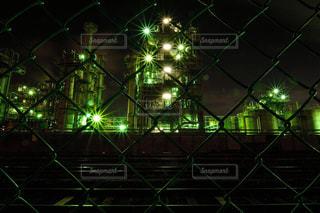 川崎工場夜景の写真・画像素材[1064425]