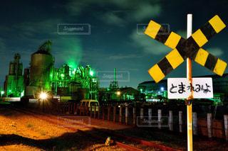 川崎工場夜景の写真・画像素材[1064439]