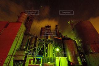 川崎工場夜景の写真・画像素材[1064444]