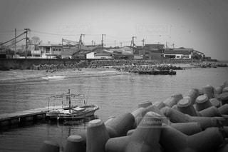 静かな港の写真・画像素材[1062687]