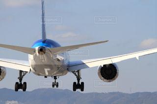 大型の飛行機の写真・画像素材[1237541]