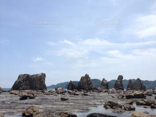 橋杭岩の写真・画像素材[1533658]