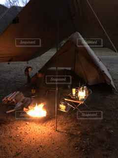 キャンプの写真・画像素材[3117748]