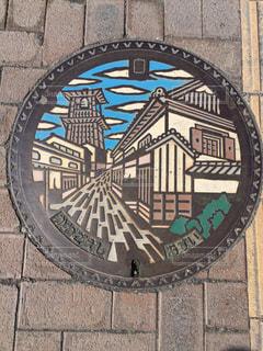 川越マンホール - No.1061855