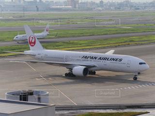 日本航空の機体の写真・画像素材[1097299]
