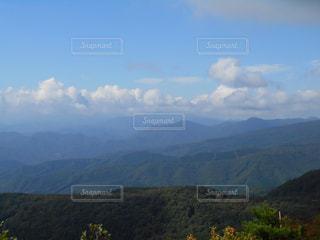 山のビューの写真・画像素材[1062189]