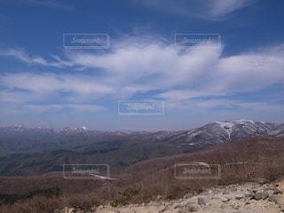 山のビューの写真・画像素材[1062234]