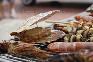 夏の海鮮BBQの写真・画像素材[1065875]