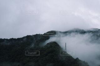 雲と山の写真・画像素材[1063970]