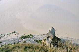 小さな石の家の写真・画像素材[1069848]