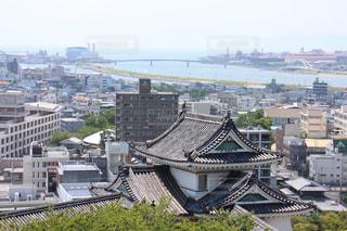和歌山城からの景色の写真・画像素材[1064443]