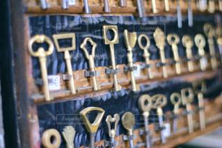 フランスの鍵屋の写真・画像素材[1074596]