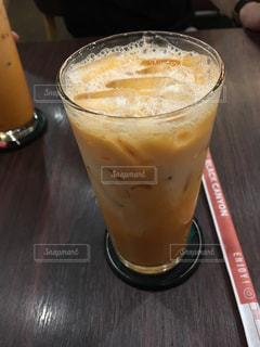 タイで飲んだタイティーの写真・画像素材[1063773]
