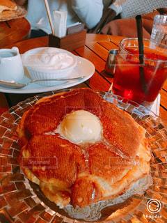 人気ホットケーキの写真・画像素材[1064112]