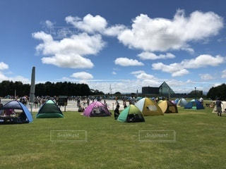 夏のキャンプの写真・画像素材[2491235]