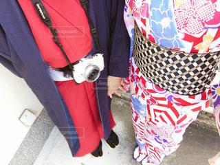 京都に着物デートの写真・画像素材[1064890]