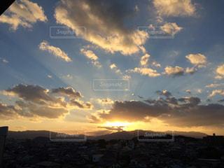 空の雲の写真・画像素材[1064787]