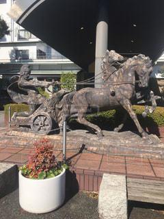 馬の像の写真・画像素材[1064990]