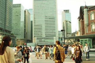都会の街の写真・画像素材[1065890]