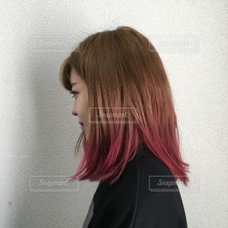 女性のヘアスタイルの写真・画像素材[2997523]