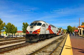 アメリカの列車の写真・画像素材[1065258]
