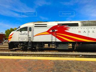 アメリカの列車の写真・画像素材[1065259]