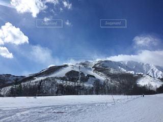 新年のスキー場の写真・画像素材[1066169]