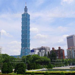 台北101の写真・画像素材[1066181]