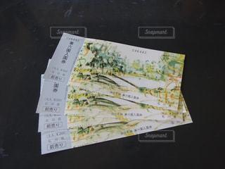 兼六園の入場券の写真・画像素材[1087116]