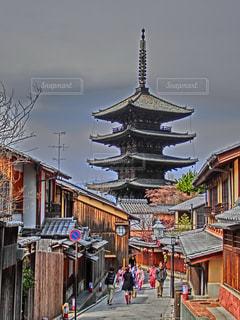 京都の街並みの写真・画像素材[1093897]