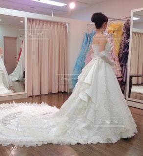 ウェディング ドレスの人の写真・画像素材[1166409]